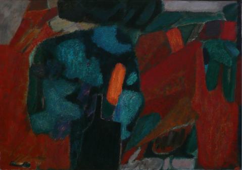 Antonius van der Pas-Malerei-60er-00-070-Arbol 1965