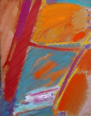 Antonius van der Pas-Gouachen-80er-02-837-Aus Marokko 1981