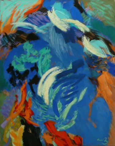 Antonius van der Pas-Malerei-90er-00-239-Aus Kosmos 1995