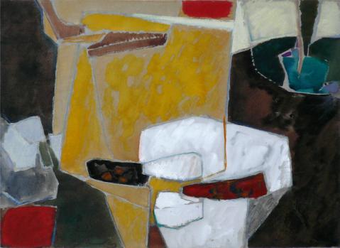 Antonius van der Pas-Gouachen-60er-10-685-undatiert