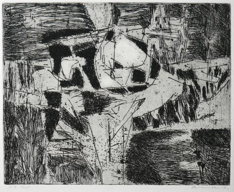 Antonius van der Pas-Radierungen Abstrakt-00-2189-undatiert