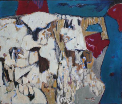 Antonius van der Pas-Malerei-50er-09-139-Penanscos 1959