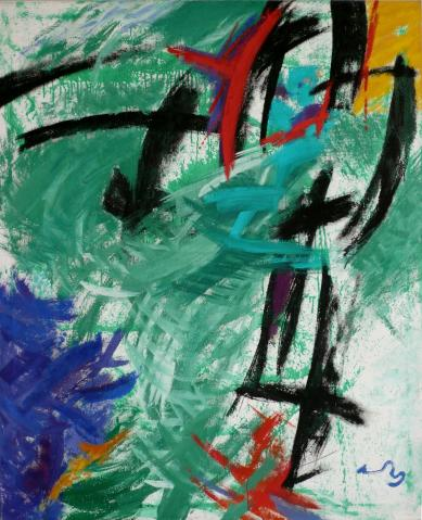Antonius van der Pas-Malerei-90er-07-076-Arboles 1995