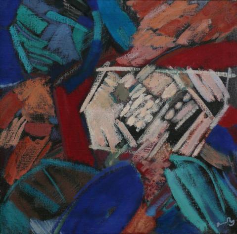 Antonius van der Pas-Malerei-80er-08-123-Aus Roc et Arbre 1984