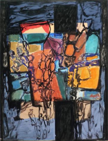 Antonius van der Pas-Collage-60er-11-046-Ohne Titel 196x