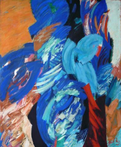 Antonius van der Pas-Malerei-80er-04-068-Aus Arbre 1988