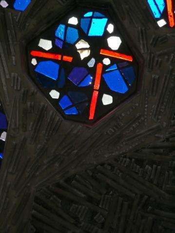 Antonius van der Pas-Betonglasfenster-Kapelle des Altenheims der Kirche Herz Jesu-05-968-1970