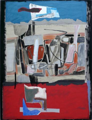 Antonius van der Pas-Collage-60er-10-043-Ohne Titel 196x