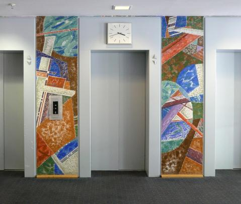 Antonius van der Pas-Fresco secco-Rathaus Rheine-Arch Robert Ingenhoven-01-111-1978