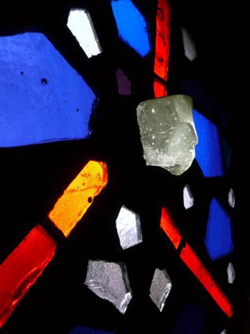Antonius van der Pas-Betonglasfenster-Kapelle des Altenheims der Kirche Herz Jesu-15-955-1970