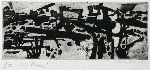 Antonius van der Pas-Radierungen Abstrakt-00-2247-Aus Rocas-undatiert