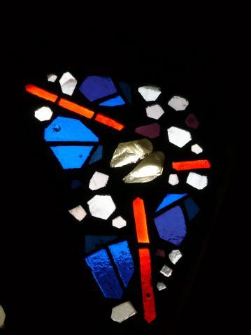 Antonius van der Pas-Betonglasfenster-Kapelle des Altenheims der Kirche Herz Jesu-07-960-1970