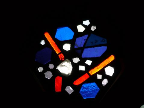 Antonius van der Pas-Betonglasfenster-Kapelle des Altenheims der Kirche Herz Jesu-06-959-1970