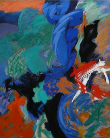 Antonius van der Pas-Malerei-90er-09-238-Arboles 1992