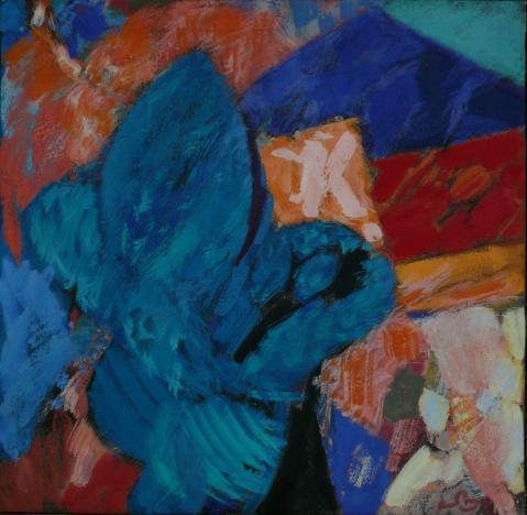 Antonius van der Pas-Malerei-80er-07-121-Paysage 1984