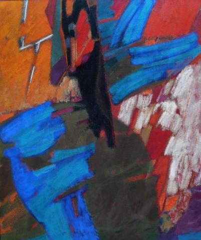 Antonius van der Pas-Malerei-80er-09-189-Aus Arizona II 1982