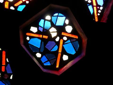 Antonius van der Pas-Betonglasfenster-Kapelle des Altenheims der Kirche Herz Jesu-08-961-1970